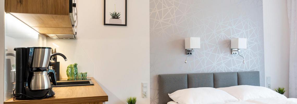 VacationClub - ApartPark Albus Apartament 011