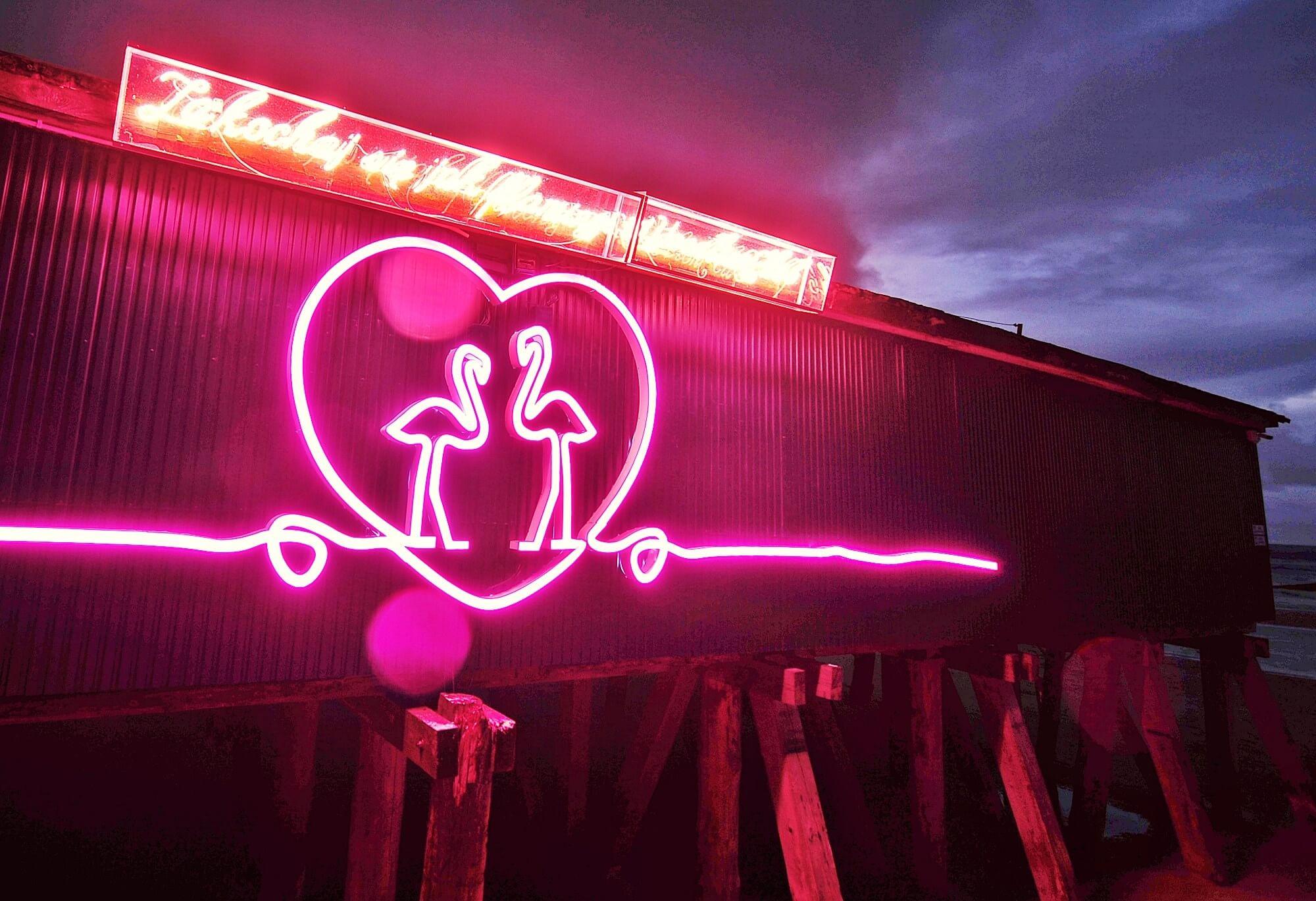 Flamingowe Love w Kołobrzegu